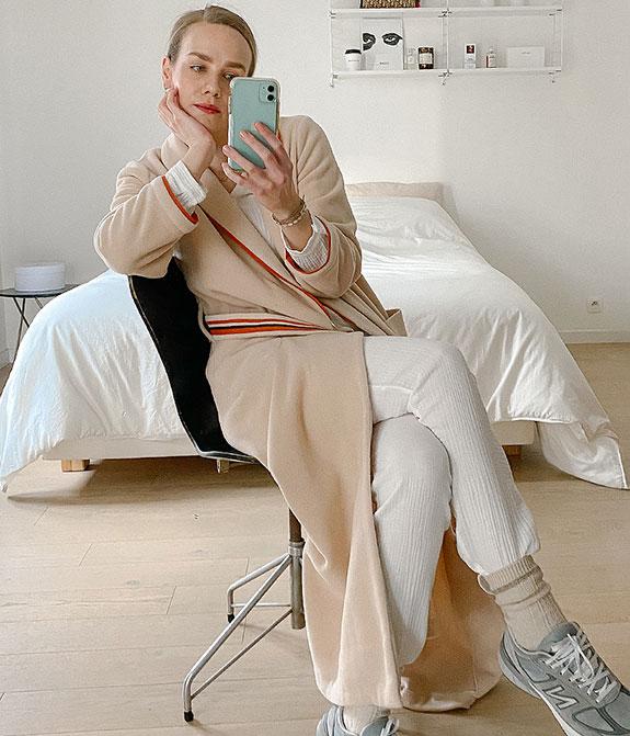 Pluto Luxury loungewear in Italian fleece as featured on Lingerie Briefs