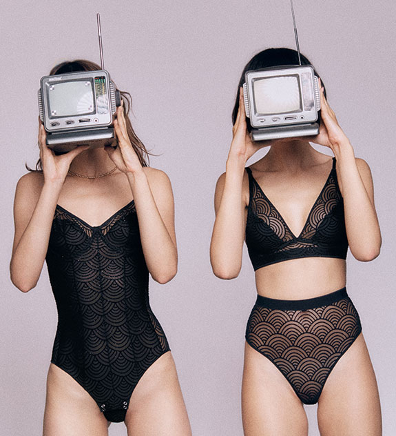 Undress Code Lingerie at Evolution Concepts Show as featured on Lingerie Briefs