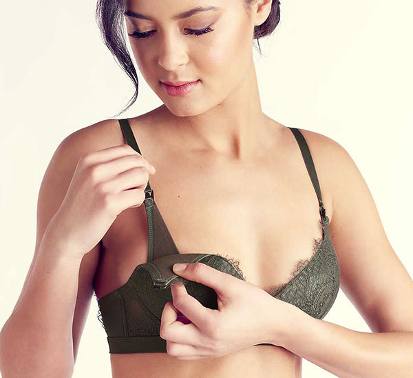 The Little Bra Company introduces the Mona Nursing Bra featured on Lingerie Briefs