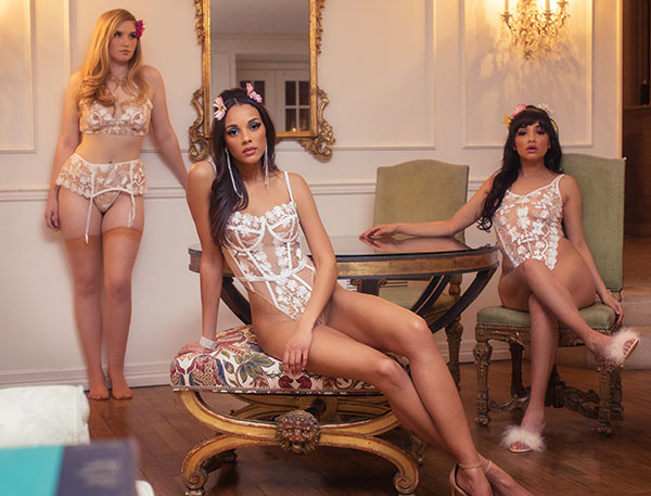 Kilobrava Spring/ Summer 2021 lingerie as featured on Lingerie Briefs