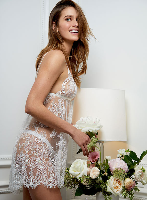 Monique Lhuiller X Hanky Panky bridal lingerie Collection as featured on Lingerie Briefs