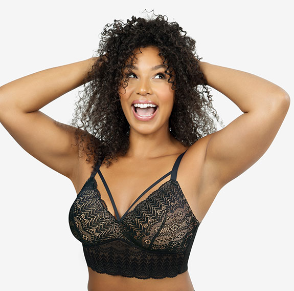 Parfait Lingerie Mia Lace bralette as featured on Lingerie Briefs