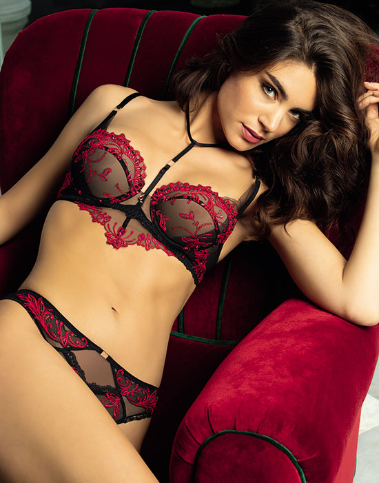 Lise Charmel Invitation Sexy Collection as featured on Lingerie Briefs