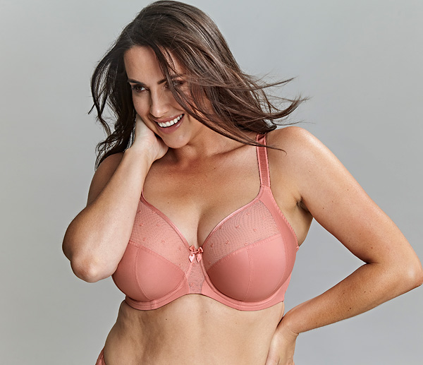 Scupltress CANDI in new Sunset shade - featured on Lingerie Briefs