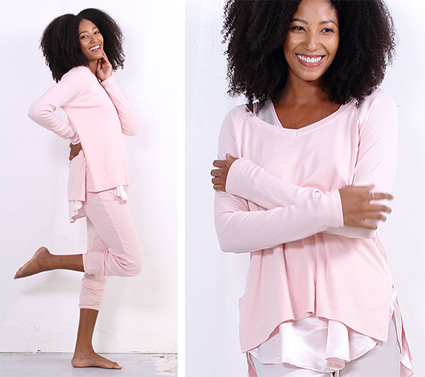 P.J. Harlow Supima Cotton and Micro modal French Terry Cozy Sweats as featured on Lingerie Briefs