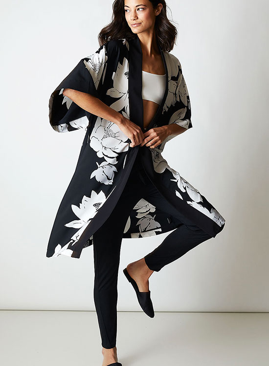 Natori Lotus robe as featured on Lingerie Briefs