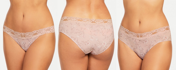 Montelle Intimates previews Gardenia print on panties - featured on Lingerie Briefs
