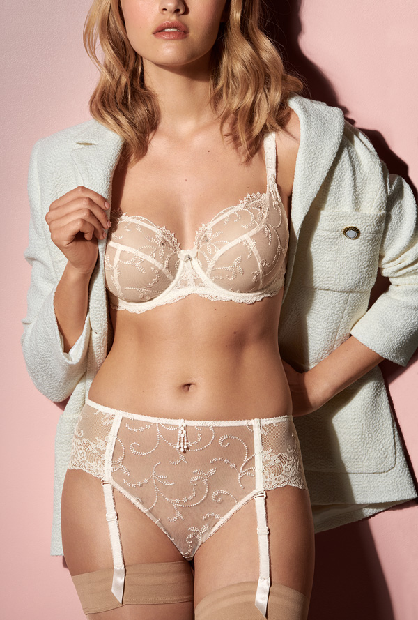 Empreinte Launches Glamorous Ginger Collection in Natural SS21 - Lingerie Briefs