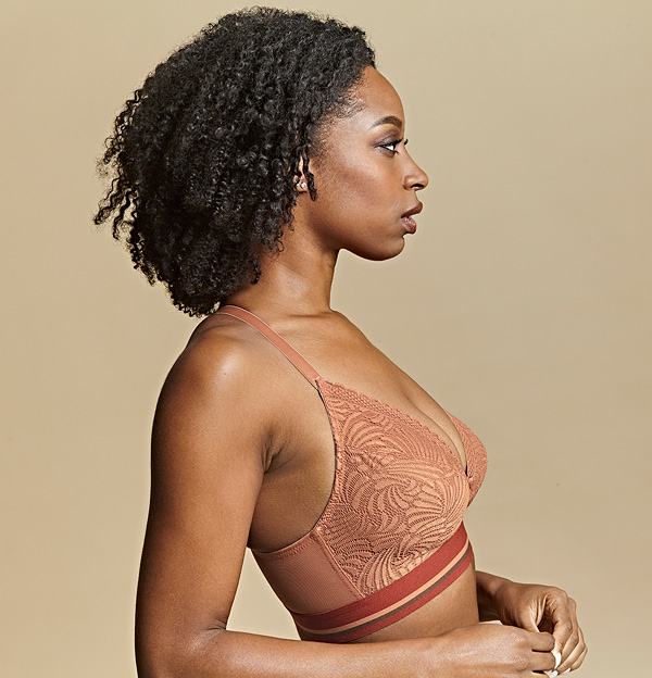 Cleo by Panache - SS21 Lyzy Vibe bra in Caramel featured on Lingerie Briefs