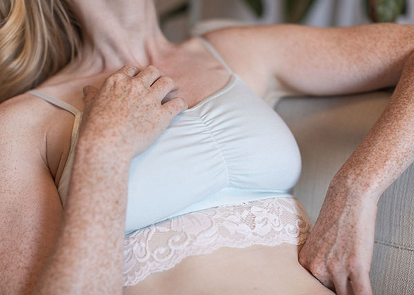 Everviolet post mastectomy lingerie for breast cancer and other surgical patients as featured on Lingerie Briefs