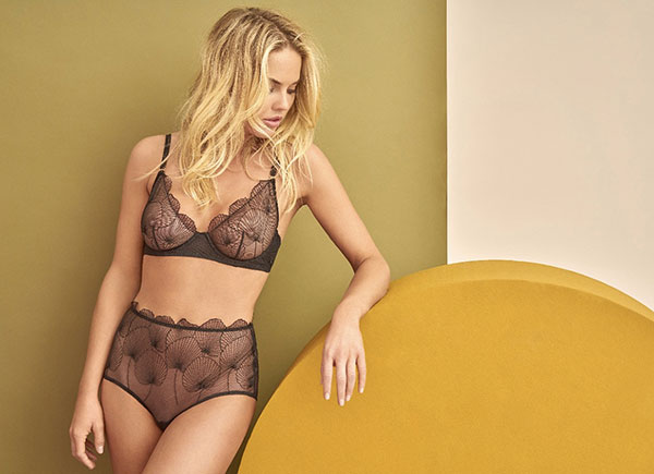 Huit Lingerie and swimwear as featured on Lingerie Briefs
