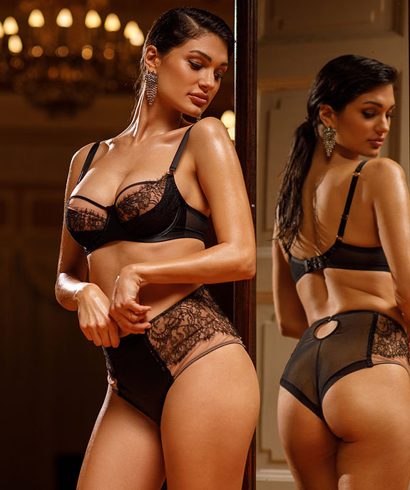 TéAmore Lingerie for full bust women as featured on Lingerie Briefs