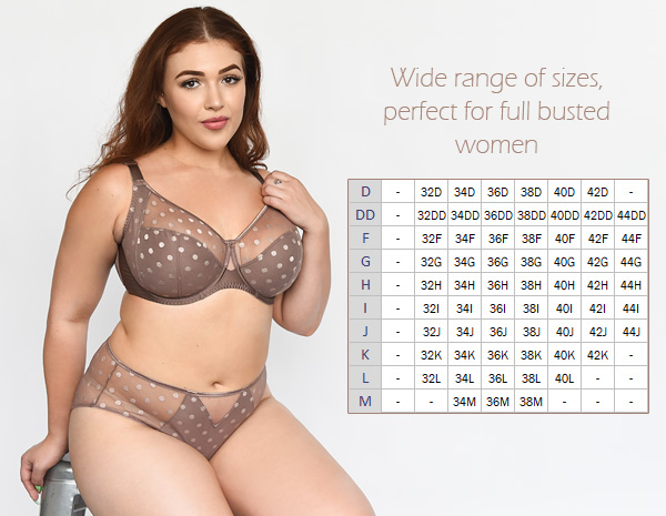 Fit Fully Yours CARMEN Collection for full busted women featured on Lingerie Briefs