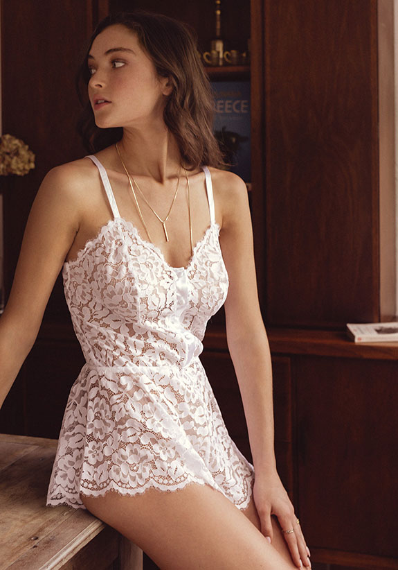 Cosabella bridal Lingerie as featured on Lingerie Briefs