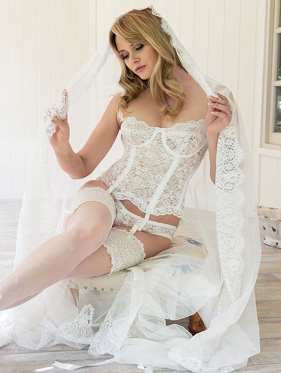 Jane Woolrich bridal Lingerie as featured on Lingerie Briefs