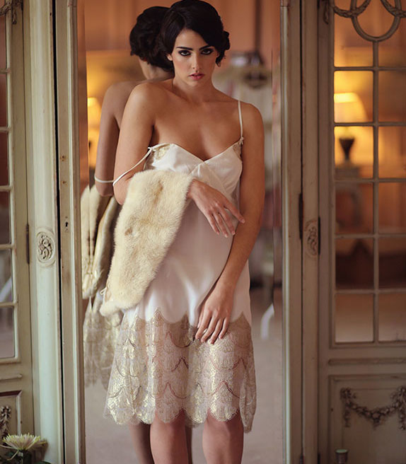 Shell Belle Couture bridal Lingerie as featured on Lingerie Briefs
