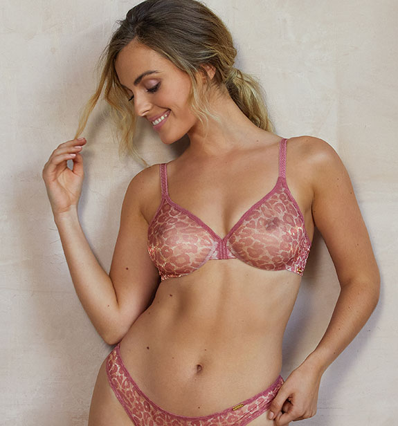 Gossard Glossies Animal Print as featured on Lingerie Briefs