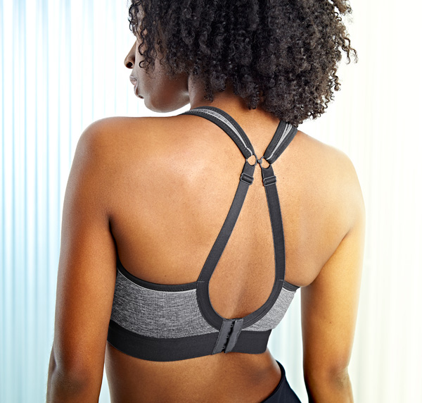 Panache Sport adds Charcoal Marl core color SS21 - featured on Lingerie Briefs