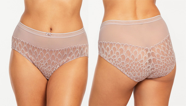 High Waist Panties from the Smokeshow collection - featured on Lingerie Briefs