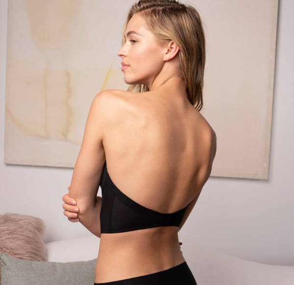 Backless Strapless Bra by b.tempt'd Future Foundation featured on Lingerie Briefs
