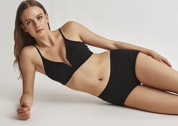Skin Lingerie Gita Bralette as featured on Lingerie Briefs