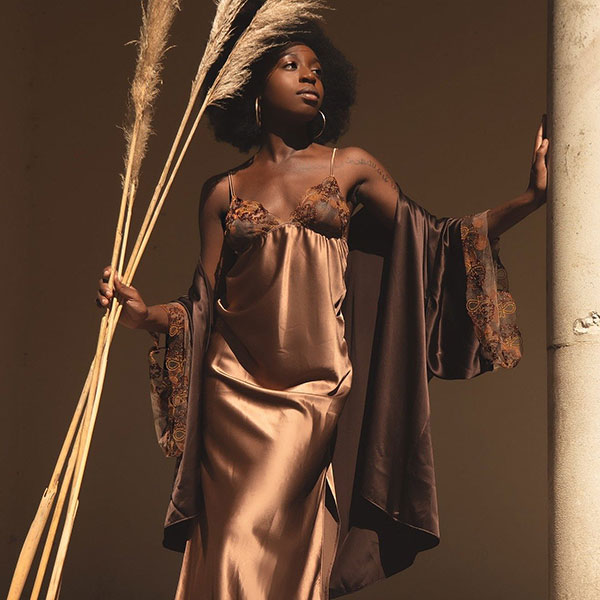 British brand Ihuoma designed & marketed for women of color as featured on Lingerie Briefs