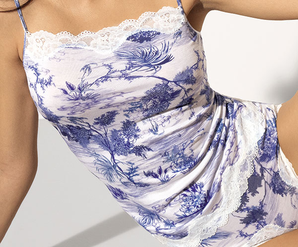 Rêve de Jouy collection by Antigel from the Lise Charmel Group as featured on Lingerie Briefs