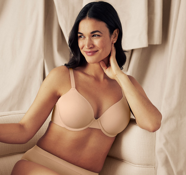 Wacoal At Ease T-Shirt Bra featured on Lingerie Briefs