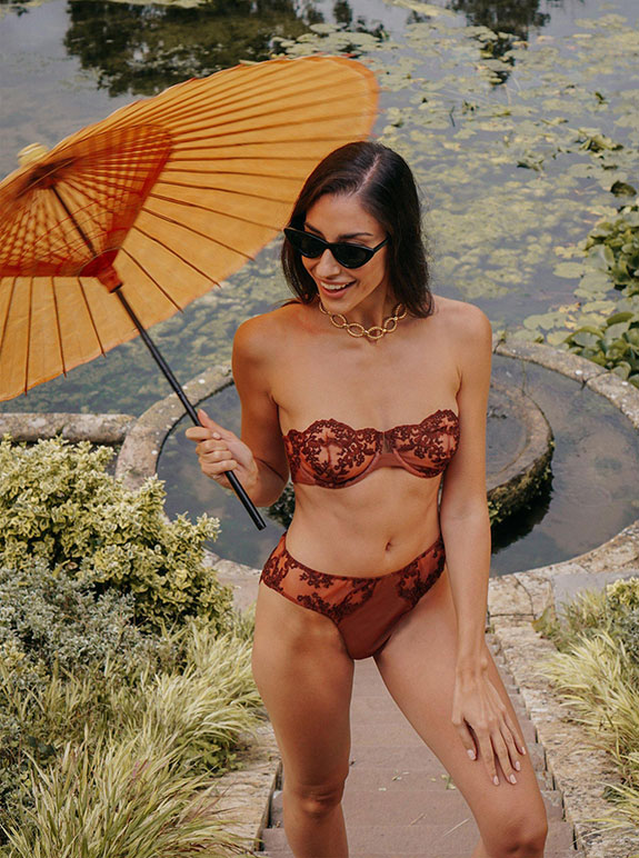 British Lingerie Brand Coutille as featured on Lingerie Briefs