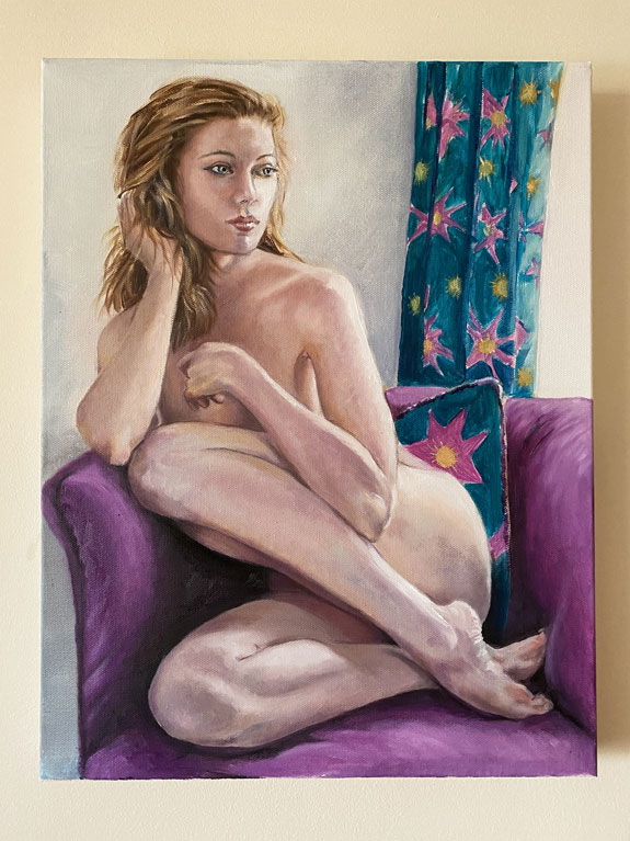 Jane Woolrich Paintings as featured on Lingerie Briefs