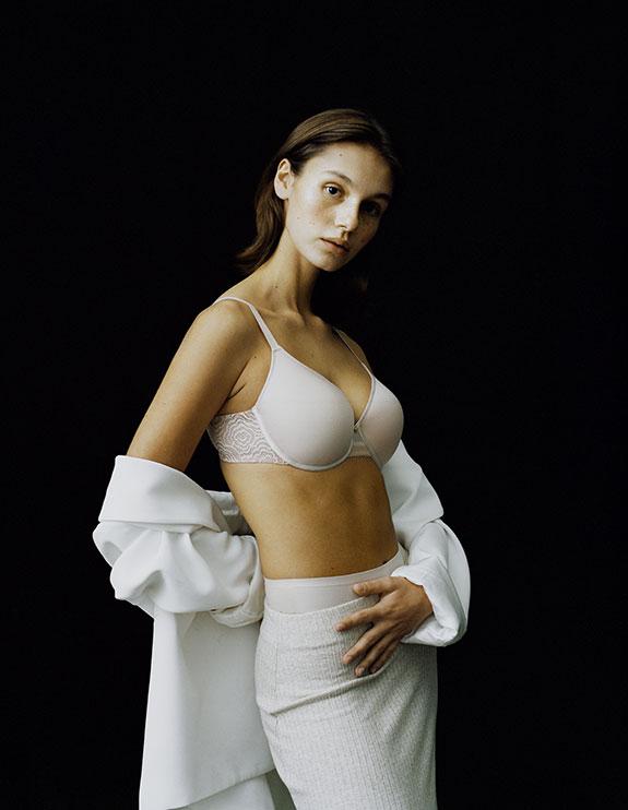 Chantelle C Jolie Memory Foam T shirt Bra as featured on Lingerie Briefs