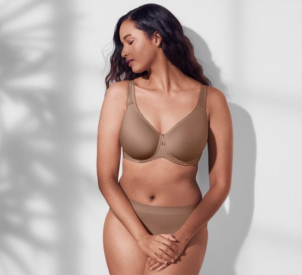 Wacoal Basic Beauty T-Shirt Bra featured on Lingerie Briefs