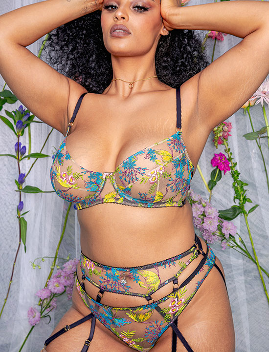 Edge of Beyond Zuzia collection as featured on Lingerie Briefs