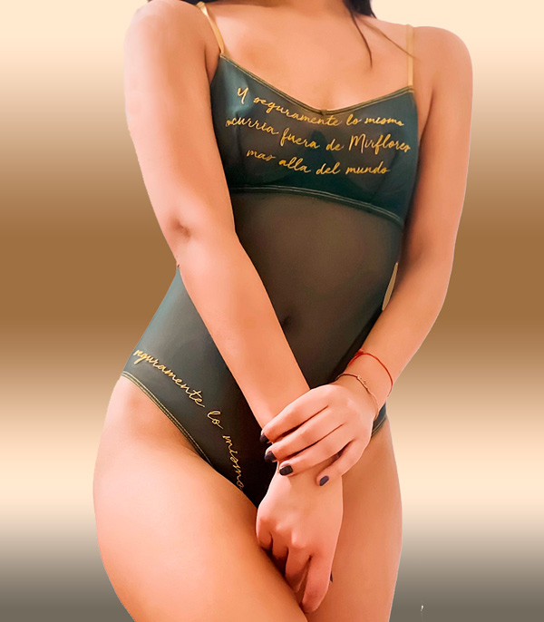 CLO Intimo Malla Botanical Embroidered Bodysuit as featured on Lingerie Briefs