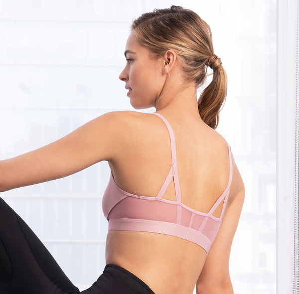 New for AW21 b.tempt'd - b.active Sport Bralette featured on Lingerie Briefs