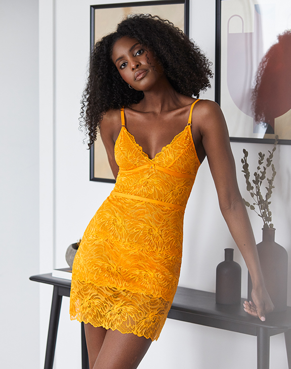 Fleur't lace slip for Sp 22 as featured on Lingerie Briefs