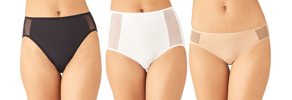 Wacoal Keep Your Cool Panties featured on Lingerie Briefs