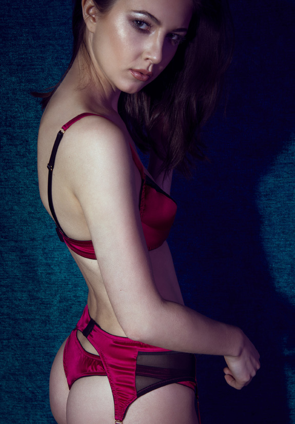 Retro-sexy Casino Collection by Emma Harris featured on Lingerie Briefs