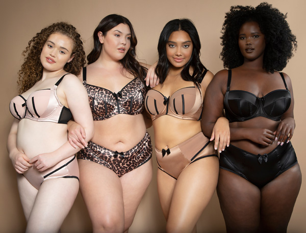 Parfait's signature Charlotte in new nudes - featured on Lingerie Briefs