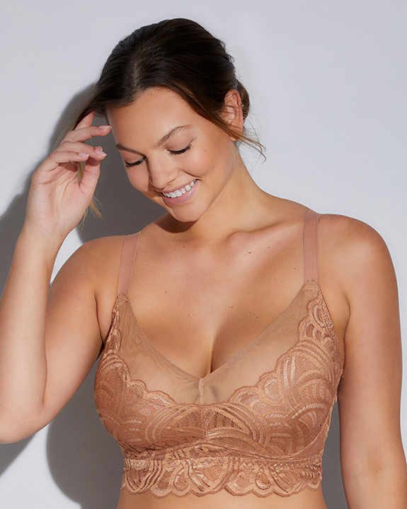 Curvy Puglia Bralette by Cosabella as featured on Lingerie Briefs