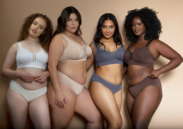 Parfait's Best selling Dalis Bralette is super soft in new nudes - featured on Lingerie Briefs