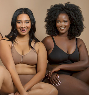 What's Nude? Parfait Curvy Bralettes in Extended Skin Tones AW21