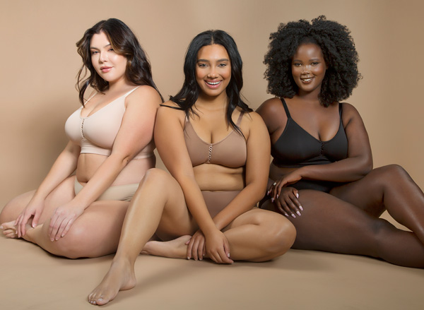 Erika, a new addition from Parfait, is a smooth, seamless bralette - featured on Lingerie Briefs