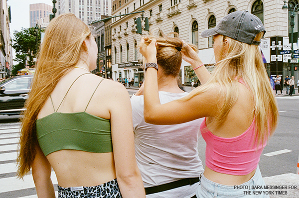 Almost Braless by Linda Dyett, photo-Sara Messinger NYTimes featured on Lingerie Briefs