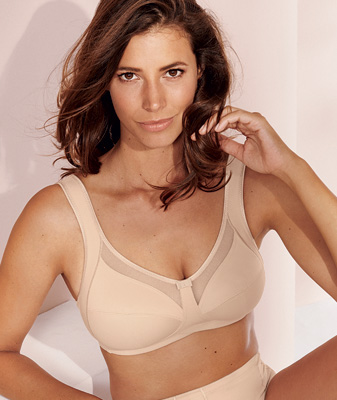 Everyday Elegance ~ Anita's Clara Comfort Bra Now Up to I-cup in Black & Sand