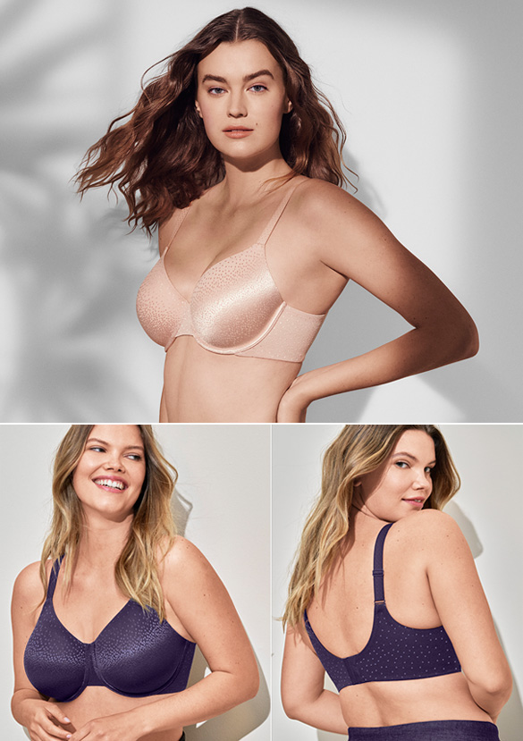 Wacoal Back Appeal Underwire Smoothing Bra featured on Lingerie Briefs