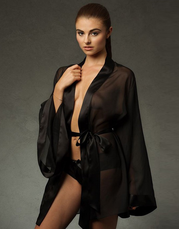 Emma Harris Grace in Midnight collection featured on Lingerie Briefs