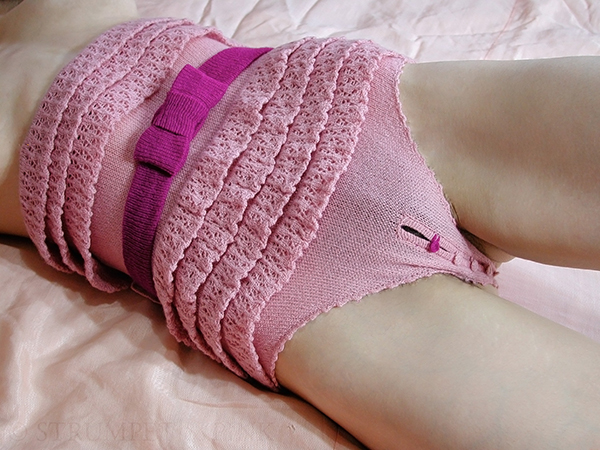 Strumpet & Pink limited edition panties as featured on Lingerie Briefs
