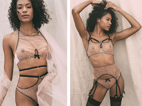 Sofia Luzon Swedish Luxury Sustainable Lingerie as featured on Lingerie Briefs
