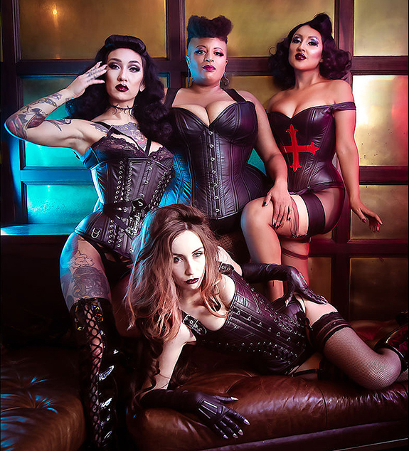 Dark Forest Unique Corsetry fashion trend featured on Lingerie Briefs